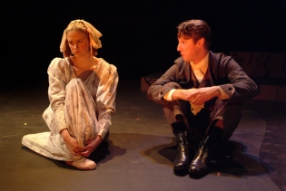 As Tom Gradgrind, with Heather Guiles as Louisa Gradgrind, in HARD TIMES at Book-It Repertory Theatre.
