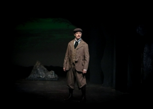 As Dr. Watson in KEN LUDWIG'S BASKERVILLE: A SHERLOCK HOLMES MYSTERY at Sierra Repertory Theatre. Photo by Jerry Lee.