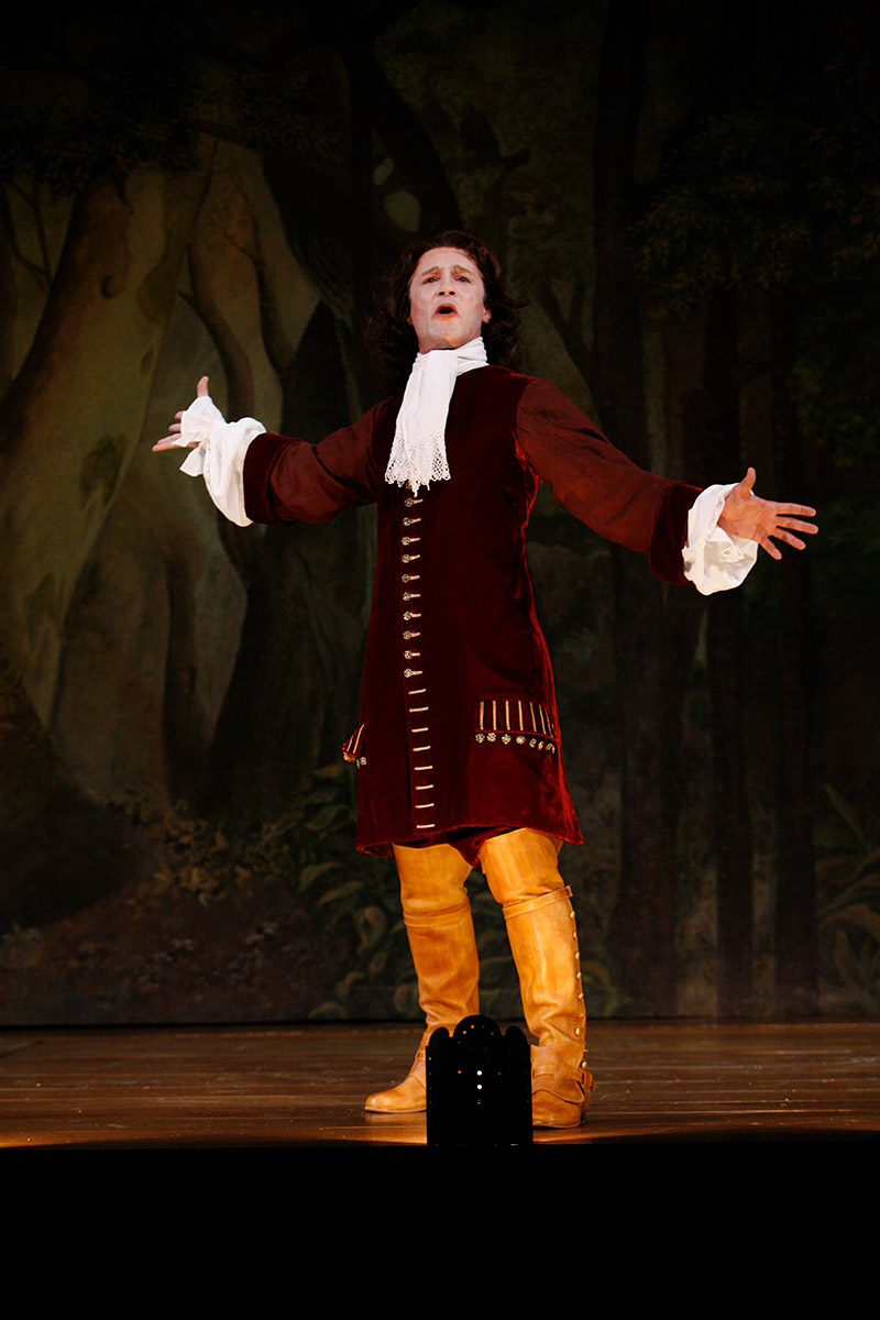 As Don Carlos in the Shakespeare Theatre Company's production of DON JUAN, translated, adapted and directed by Stephen Wadsworth. Photo by Richard Termine.