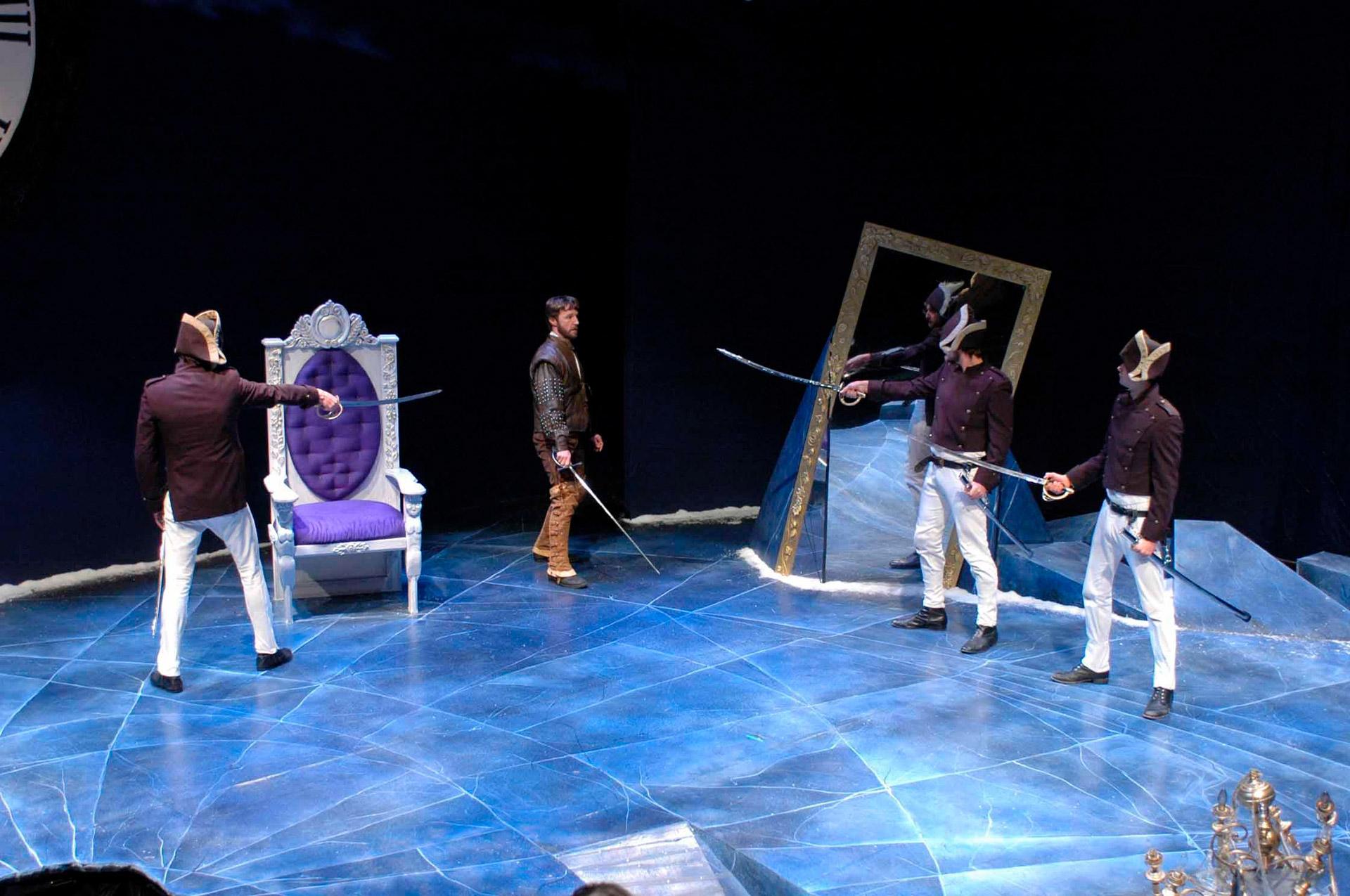As Antonio in TWELFTH NIGHT at Perseverance Theatre.